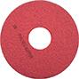 米国3M フロアパッド 赤(軽洗浄用)13インチ